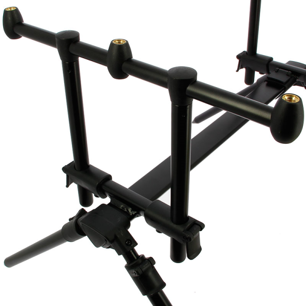 NGT Quickfish 3-Rod Pod inclusief Case