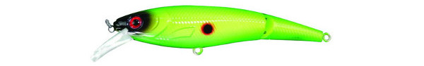 Predator-Z Jointed Shad (keuze uit 5 opties) - Chartreuse Shad
