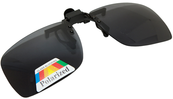 Ultimate Clip On Sunglasses - Grey