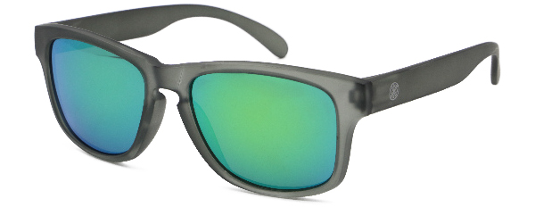LMAB Sclera Polarized Floating Glasses (meerdere opties) - Crystal Grey / Emerald Revo