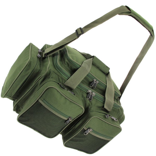 NGT XPR Multi-Pocket Carryall + Compact Rigbox System (keuze uit 2 opties) - Groen