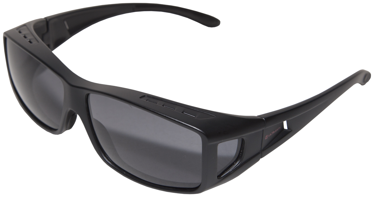 Ultimate Put Over Sunglasses - Grey