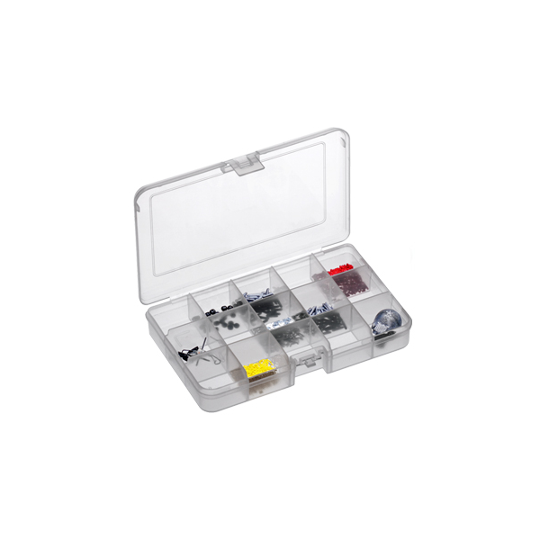 Panaro Polypropylene Tackle Box (keuze uit 6 opties) - 15 compartimenten