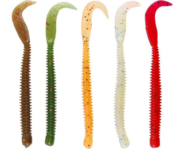 Spro Ring Worm perfect voor baars, snoekbaars en zeebaars (keuze uit 16 opties)