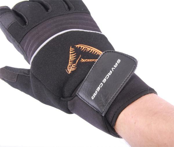 Angelsport SAVAGE GEAR Boat Glove L Handschuhe by TACKLE-DEALS !!! Bekleidung