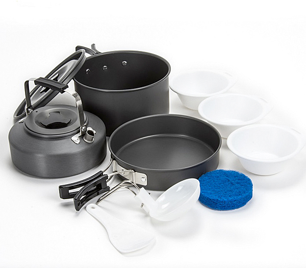 Saber Tuff 3 Piece Cook Set