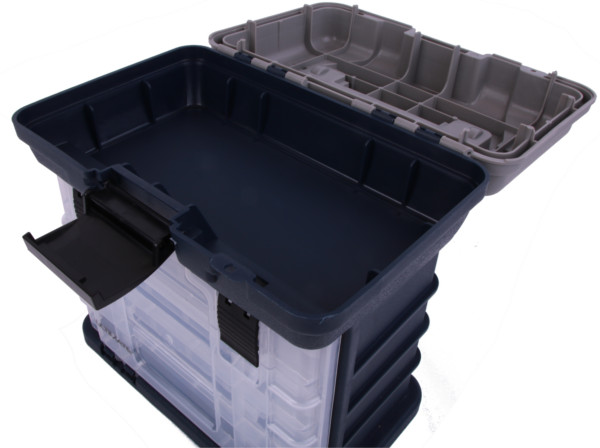 Ultimate Large Storage Box incl. 4 Tackleboxen