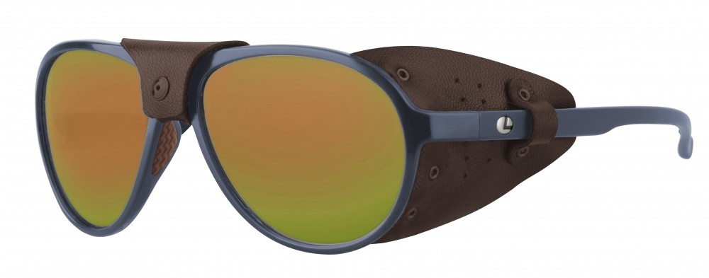 Lenz Optics Spotter Polarised Sunglasses (meerdere opties) - Copper Mirror