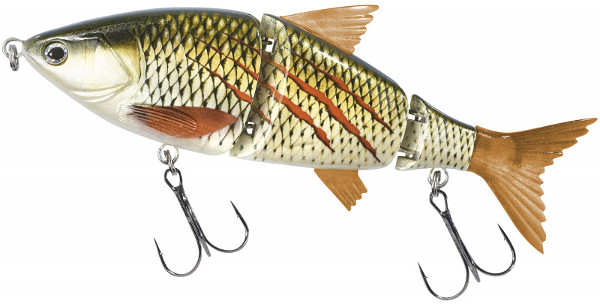 Balzer Shirasu Swimbait 15cm (meerdere opties) - Blood Minnow