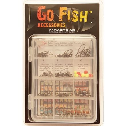 Darts Go Fish accessoires pack