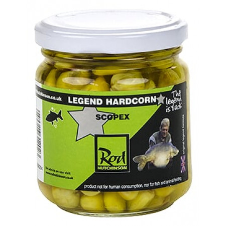 Rod Hutchinson Hardcorn Flavoured Hookbaits (keuze uit meerdere opties) - Scopex (Yellow)