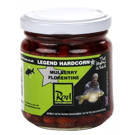 Rod Hutchinson Hardcorn Flavoured Hookbaits (keuze uit meerdere opties) - Mulberry Florentine (Red)