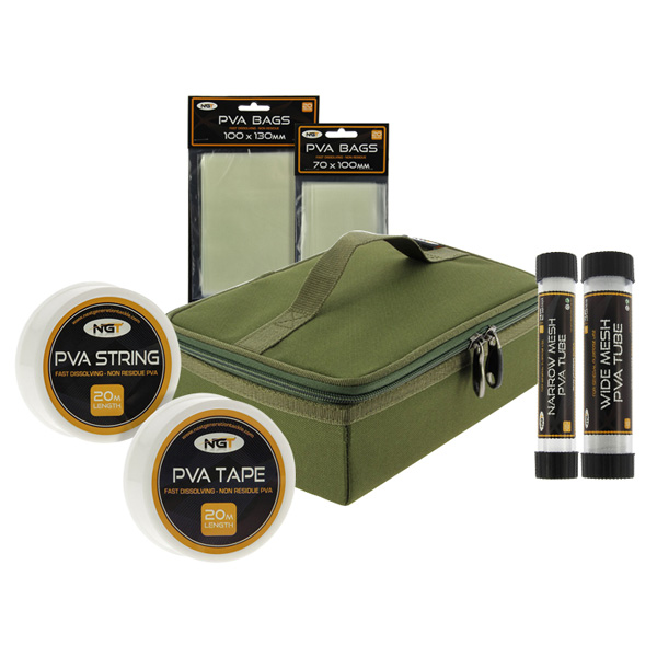 NGT PVA Bundle Pack, inclusief PVA Storage Bag!