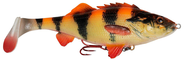 Savage Gear 4D Perch Shad 12,5cm (meerdere opties) - Albino