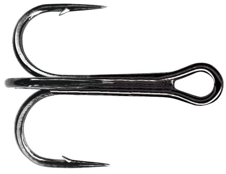 Mustad Ultra Point Round Bend Trebles (maat 1 t/m 3/0)