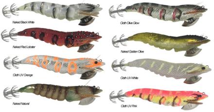 Savage Gear 3D Shrimp EGI Jig (keuze uit 12 opties)