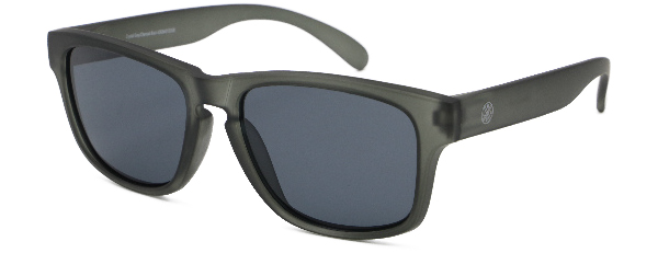 LMAB Sclera Polarized Floating Glasses (meerdere opties) - Crystal Grey / Charcoal Black