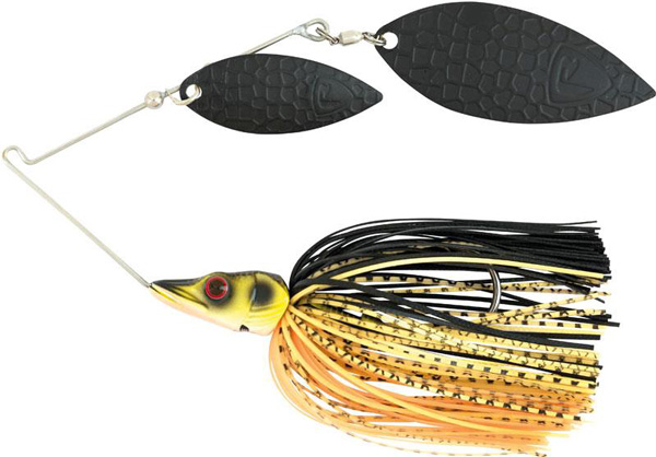 Fox Rage Pike Spinnerbait 7gr - Black & Gold