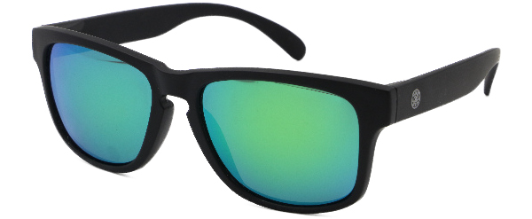 LMAB Sclera Polarized Floating Glasses (meerdere opties) - Black / Emerald Revo