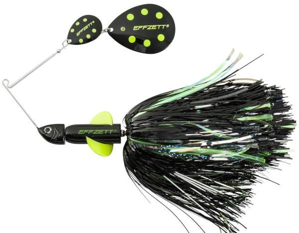 Effzett Pike Rattlin' Spinnerbait - Black Demon