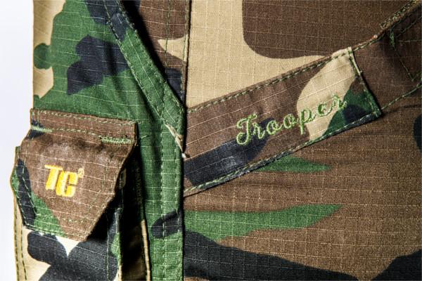 Tactic Carp Trooper Combat Broek in Green of Camo (beschikbaar in maat XS & S)