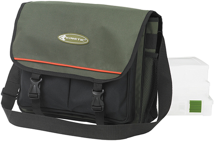 Kinetic Fishing Bag inclusief 3 tackleboxen