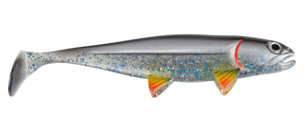 Jackson The Big Fish, 23 en 30cm! (meerdere opties) - Silver Shad