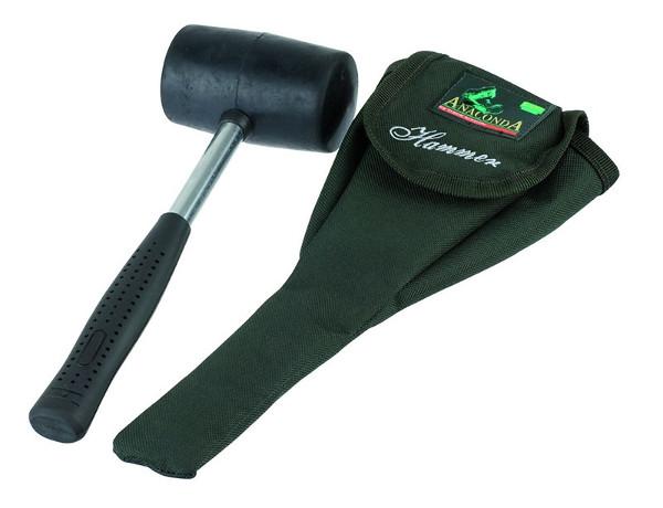 anaconda gummihammer auch in hartem boden sicher die heringe einschlagen. Black Bedroom Furniture Sets. Home Design Ideas