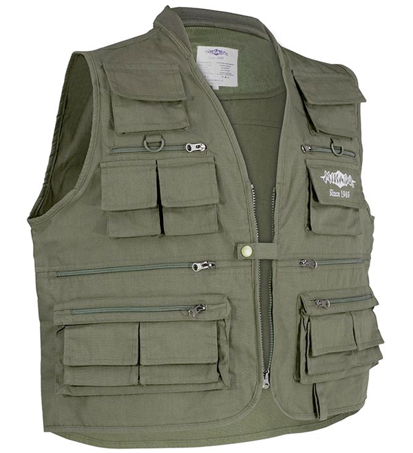 Mikado Fishing Vest (maat L - 3XL)