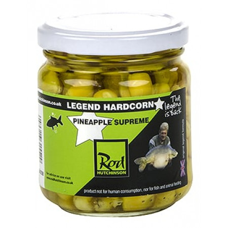 Rod Hutchinson Hardcorn Flavoured Hookbaits (keuze uit meerdere opties) - Pineapple Supreme (Yellow)