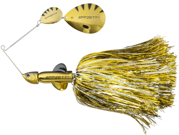 Effzett Pike Rattlin' Spinnerbait - Gold