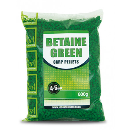 Rod Hutchinson Carp Pellets (keuze uit meerdere opties) - Rod Hutchinson Carp Pellets 'Betaine Green' 4.5mm (800g)
