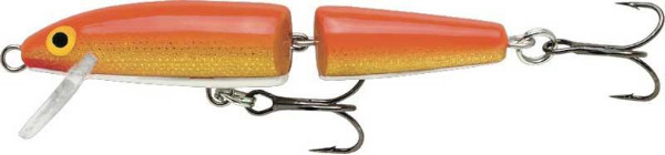 Rapala Jointed Floating 13cm - Gold Fluorescent Red
