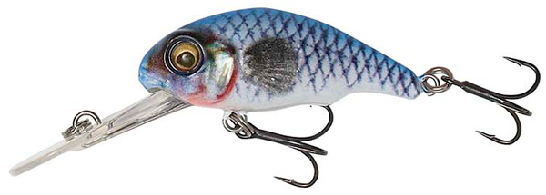 Savage Gear 3D Goby Crank 4cm (meerdere opties) - Blue Silver
