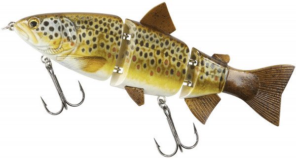 Balzer Shirasu Swimbait 15cm (meerdere opties) - Brown Trout