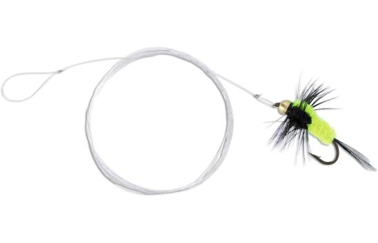 4 x Quantum Magic Trout Streamer Rig (Keuze uit 6 opties) - Yellow/Black