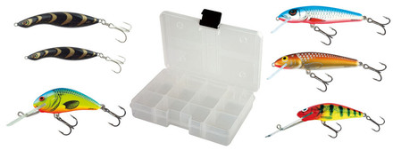 Salmo Mix 6 Lure Box met Fox Rage Tacklebox