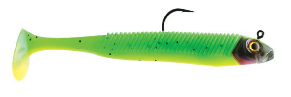 Storm 360GT SearchBait Minnow 14cm, weedless! - Limetreuse