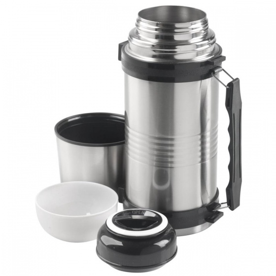 MacGyver vacuumflask double walled stainless steel