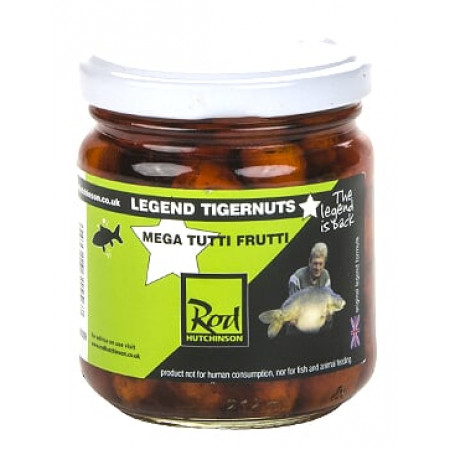 Rod Hutchinson Tigernuts Flavoured Hookbaits (keuze uit meerdere opties) - Mega Tutti Frutti (Orange)