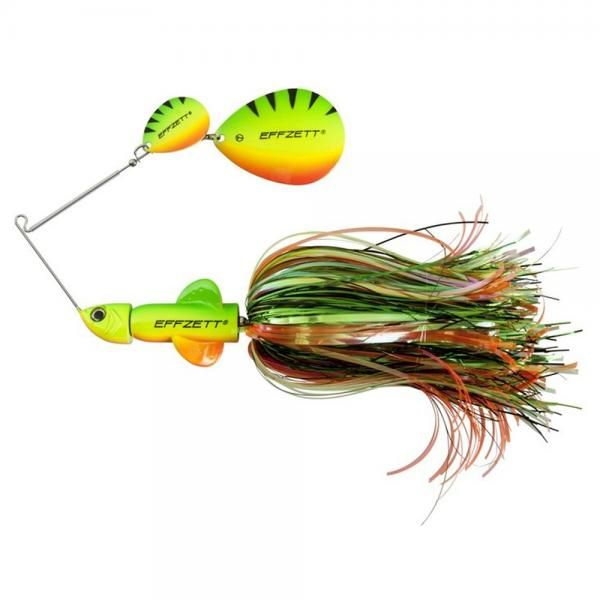 Effzett Pike Rattlin' Spinnerbait - Firetiger