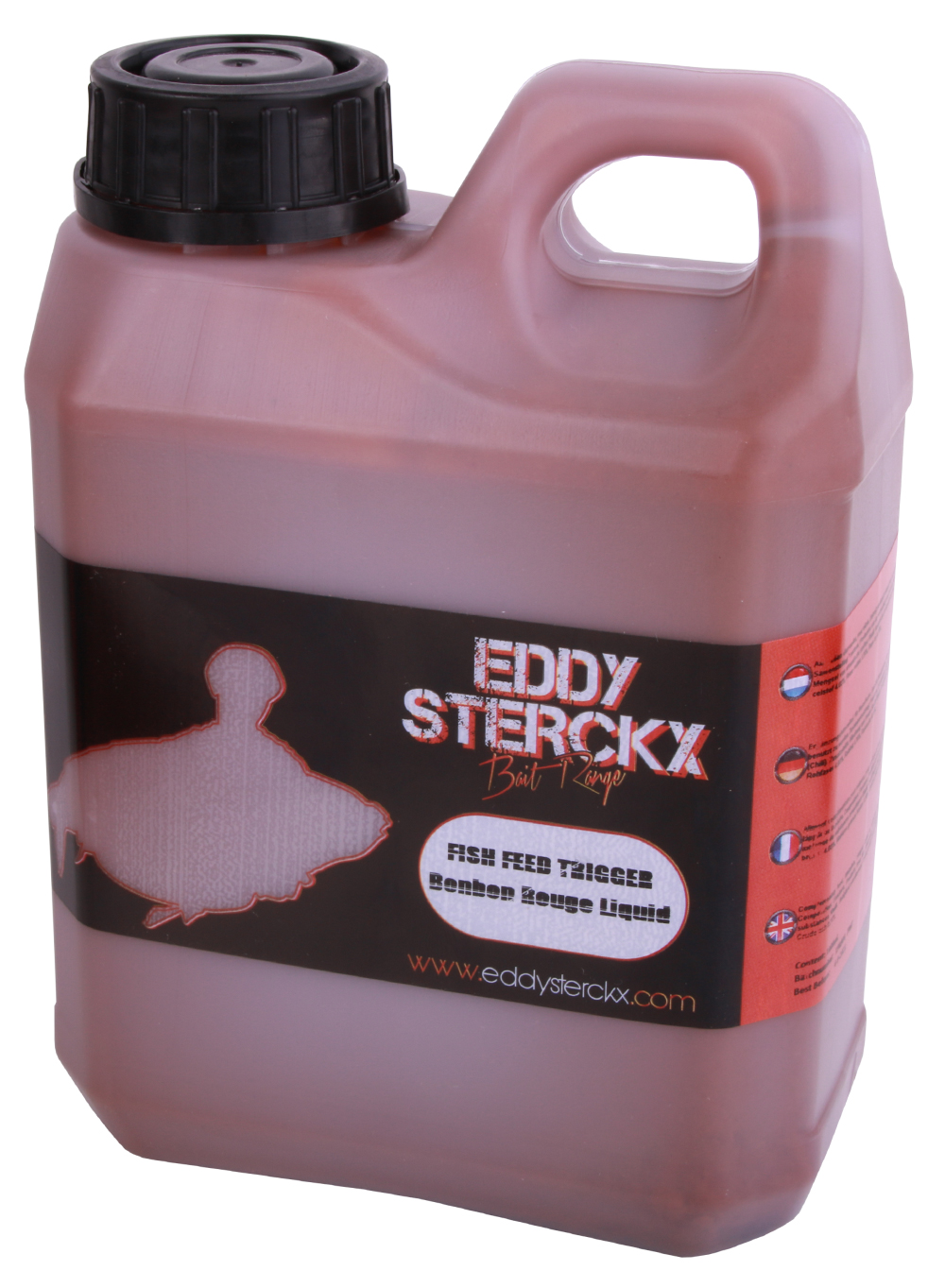 Eddy Sterckx Red Angel Mulberry Pack met boilies, popups en liquid