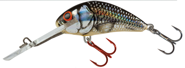 Salmo Hornet Super Deep Runner 5cm - Silver Black Red