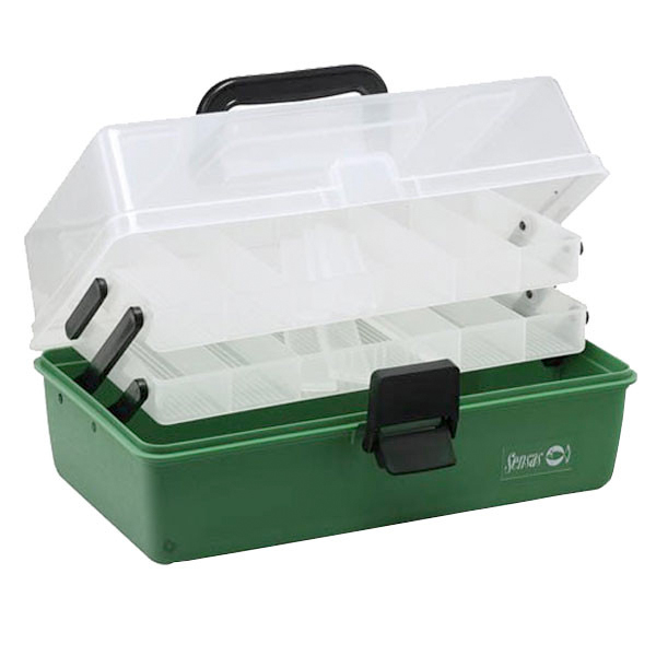 Sensas Fishing Box (keuze uit 2 varianten) - 2 Trays