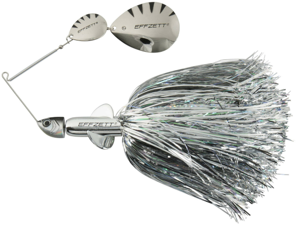 Effzett Pike Rattlin' Spinnerbait - Silver