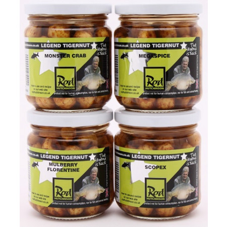 Rod Hutchinson Tigernuts Flavoured Hookbaits (keuze uit meerdere opties) - Monster Crab (Brown)