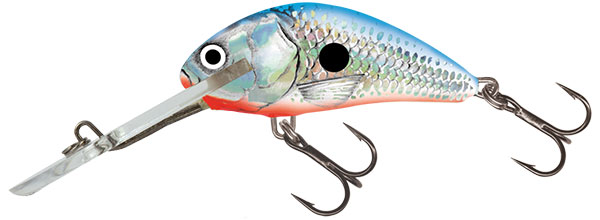Salmo Hornet SDR 5cm (keuze uit 8 opties) - Silver Blue Shad