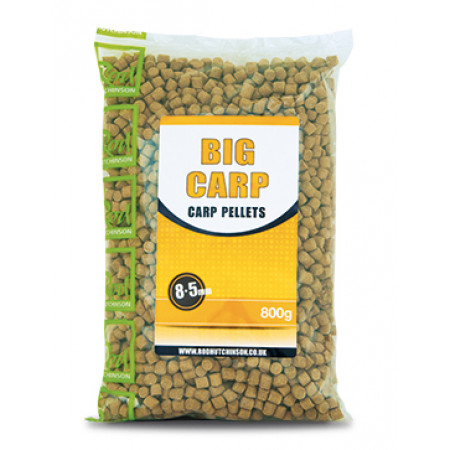 Rod Hutchinson Carp Pellets 'Big Carp' (keuze uit meerdere opties) - Rod Hutchinson Carp Pellets 'Big Carp' 8.5mm (800g)