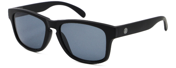 LMAB Sclera Polarized Floating Glasses (meerdere opties) - Black / Charcoal Black