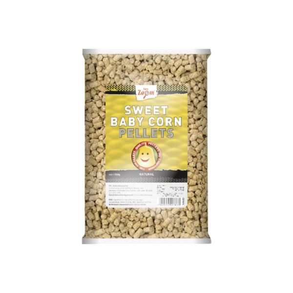 Carp Zoom Sweet Baby Corn Pellets (keuze uit 3 opties) - Sweet Baby Corn Pellets